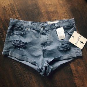 Pants - NWT PISTOLA Distressed Shorts
